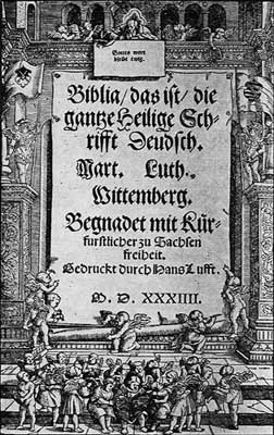 Luther Bible.