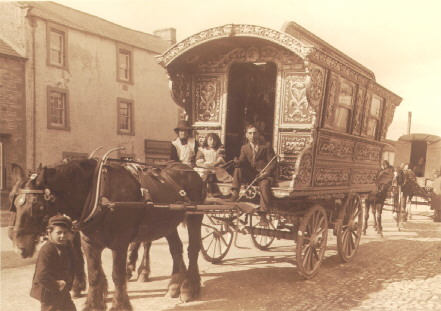 Romani wagon.