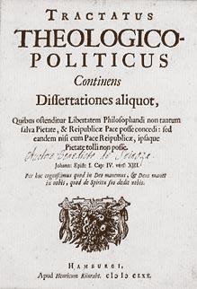 Spinoza's Tractatus Politicus.