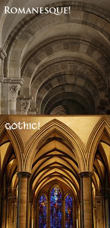 Romanesque v. Gothic!